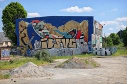 Rennes, rue Alexandre Duval. Anciens magasins généraux de la Chambre de Commerce et d'Industrie (mai 2016).