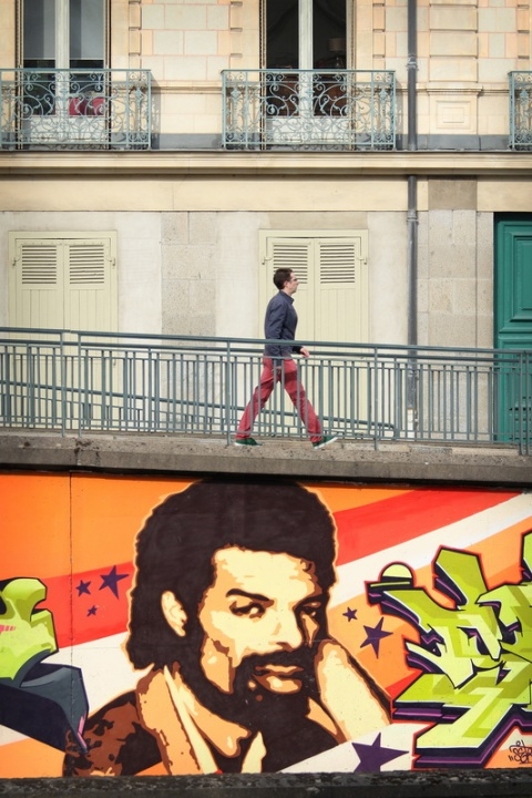 Rennes, Quai Saint-Cast (juin 2014).