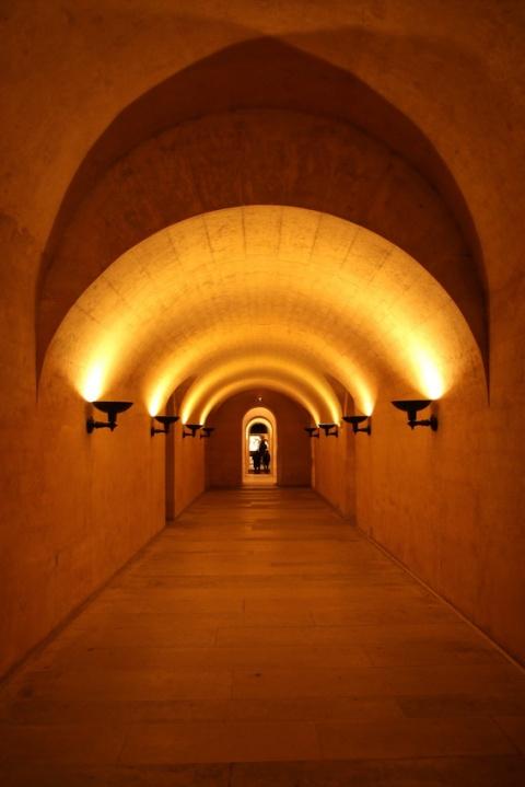 La crypte du Panthéon (Paris).