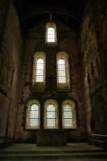 Ruine de l'église de l'abbaye Notre-Dame deClairmont