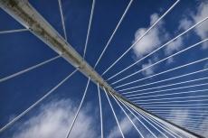 Le pont de Zubizuri, àBilbao