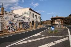 L'ancien poste-frontière deCerbère